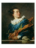 Figure of Fantasy: Portrait of the Abbot of Saint-Non Reproduction procédé giclée par Jean-Honore Fragonard