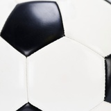 Close-up of Soccer Ball Photographic Print by Rob Chatterson