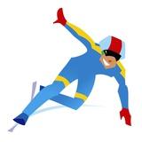 Speed Skater Giclee Print