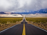 Empty Highway in Death Valley National Park Photographic Print by Rudy Sulgan