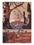Humpty Dumpty Took the Book, and Looked at It Carefully Giclee Print by Milo Winter