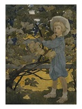 The Senses: Taste Giclee-vedos tekijänä Jessie Willcox Smith