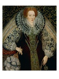 Queen Elizabeth I Giclee Print by John Bettes the Younger