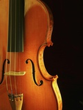 Close-Up of Violin Photographic Print by Yi Lu