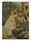 The Senses: Smell Reproduction procédé giclée par Jessie Willcox-Smith