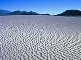Wind Pattern in Desert Sand Photographic Print by Gerolf Kalt