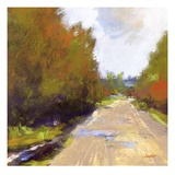Open Road Giclee Print by Lou Wall