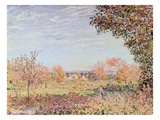 September Morning Giclee Print by Alfred Sisley