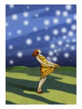 Catching stars Giclee Print by Alberto Ruggieri