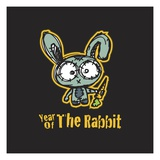 Year of the Rabbit Lámina giclée