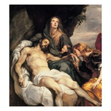 Detail of Pieta Lámina giclée por Sir Anthony van Dyck