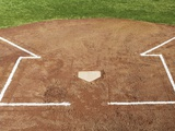 Baseball Field Photographic Print by Robert Michael