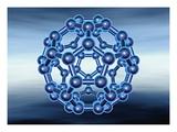 Buckyball also known as Fullerene or Buckminsterfullerene Impression giclée par Matthias Kulka