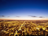 View of Chicago from Sears Tower Photographie par Bruno Ehrs