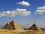The Pyramids of Giza Photographic Print by Adam Jones