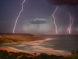 Thunderstorm Over Mdumbi Estuary Photographic Print by Jonathan Hicks