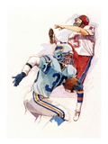 Football Giclee Print by Brian Harper