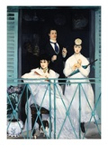 The Balcony Giclee Print by Edouard Manet