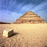 Step Pyramid of Zoser Photographic Print by So Hing-Keung