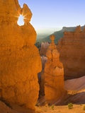 Thor's Hammer in Bryce Canyon National Park Fotodruck von Jeff Vanuga