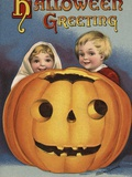 Hallowe'en Greeting Photographic Print by Ellen H. Clapsaddle