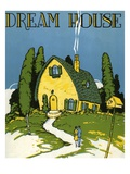Dream House Sheet music cover Giclee Print