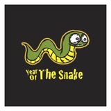 Year of the Snake Giclee Print