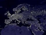 L'Europe de nuit Photographie