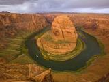 Horseshoe Bend on Colorado River Photographic Print by John Eastcott & Yva Momatiuk