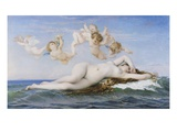 The Birth of Venus Giclee Print by Alexandre Cabanel