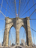 Brooklyn Bridge Photographic Print by Alan Schein