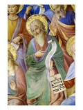 Detail of Saint John the Baptist and Prophets Giclee Print by  Fra Angelico