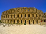 Roman Amphitheatre at Al Jamm Photographic Print by Blaine Harrington