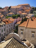 Red Terracotta Rooftops in Dubrovnik Photographic Print by William Manning
