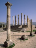 Volubilis Roman Ruins in Morocco Photographic Print by Tibor Bognár
