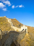 Mutianyu Section of the Great Wall of China Photographic Print by Xiaoyang Liu