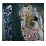 Death and Life Giclee Print by Gustav Klimt