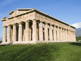 The Temple of Neptune at Paestum Photographic Print by Jim Zuckerman