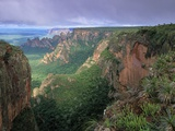 Chapada dos Guimaraes Mountain Range Photographic Print by Theo Allofs
