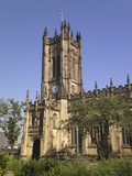 Manchester Cathedral Photographic Print by Paul Thompson