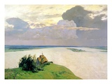 Above the Eternal Peace Giclee Print by Isaak Ilyich Levitan