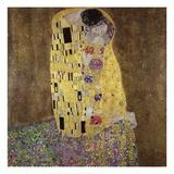 Suudelma Giclee-vedos tekijänä Gustav Klimt