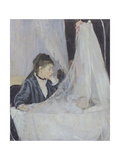 The Cradle Photographic Print by Berthe Morisot