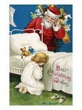 Best Christmas Wishes ジクレープリント : エレン H. クラップサドル