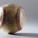 Baseball Photographic Print by Sean Justice