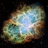 Crab Nebula Photographic Print