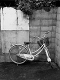 Bicycle in Courtyard Photographic Print by Envision
