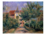 Renoir's House at Essoyes Giclee Print by Pierre-Auguste Renoir