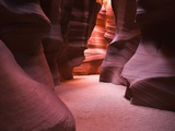 Sandstone Formations in Antelope Canyon Photographic Print
