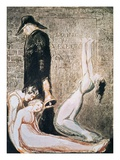 Plague from Europe: A Prophecy Giclee Print by William Blake